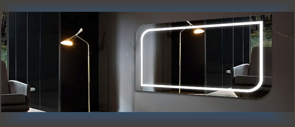 Зеркала . LED подсветка. Столы